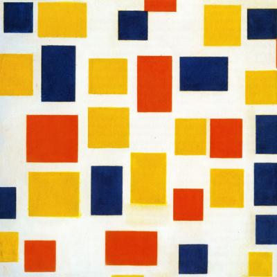 Композиция с цветовыми плоскостями 1
