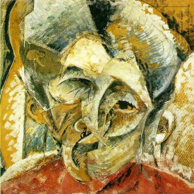 Umberto Boccioni. Plot 6