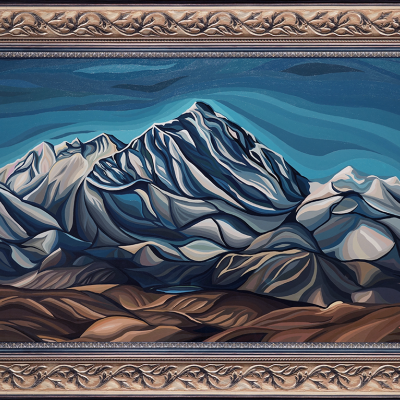 "Basil Sidorin. ""Everest"""