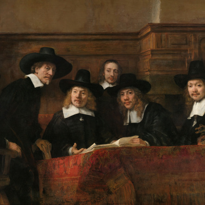 The Syndic, or a Portrait of elected members of the shop clothiers