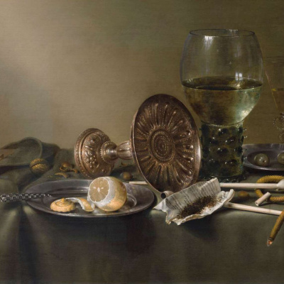 Still Life with Glasses and Tobacco