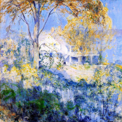 John Henry Twachtman. October