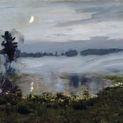 The mist over the water