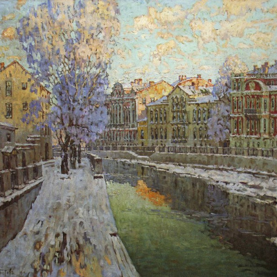 Petersburg. The Canal