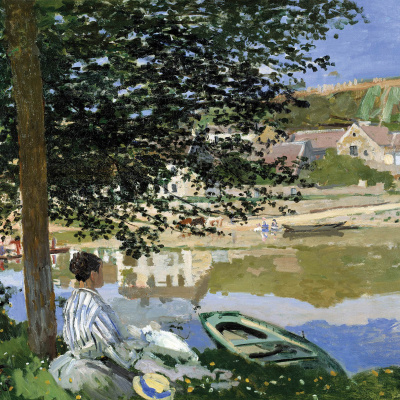 On the banks of the Seine, Bencur
