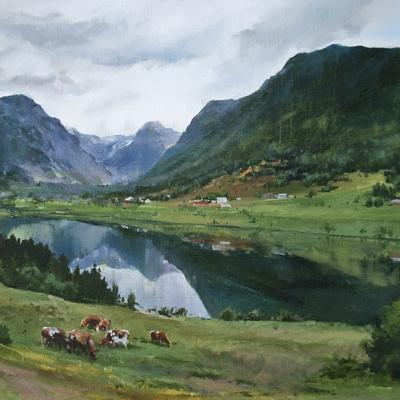 Норвежские пастбища