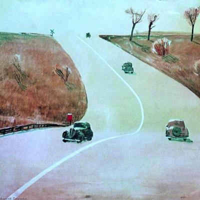 Дорога в Маунт-Вернон