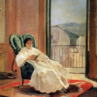 Portrait of the artist's wife Anna Petrovna