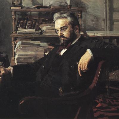 Portrait Of Konstantin Dmitrievich Artsybushev
