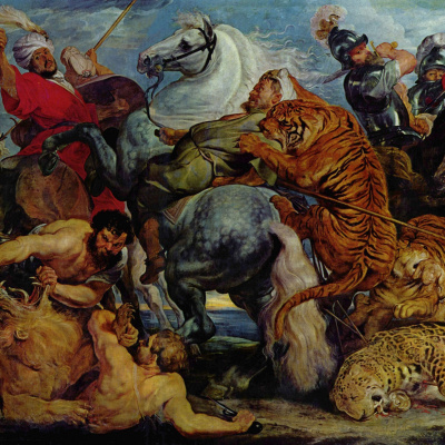 Охота на тигров и львов