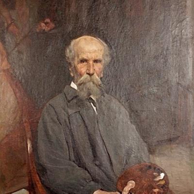 Савинский Василий Евменьевич (1859–1937) - Портрет Чистякова