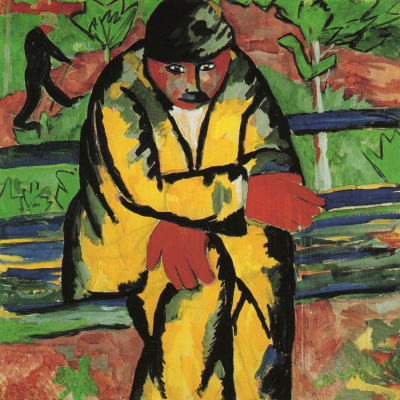 Kazimir Malevich. On the Boulevard