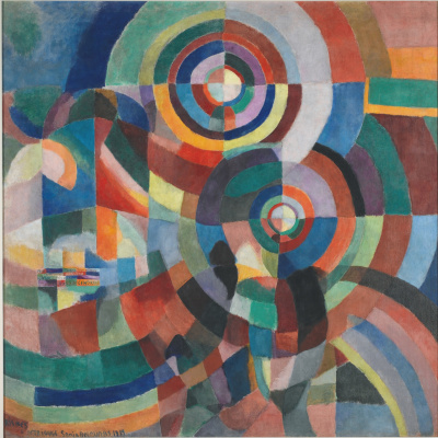 Sonia Delaunay. Electric prisms