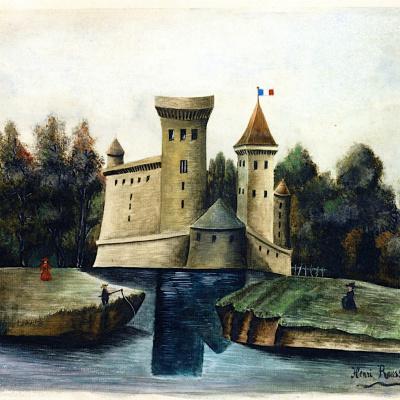 Landscape with Château