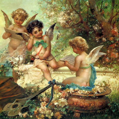 Hans Zack. Cupids