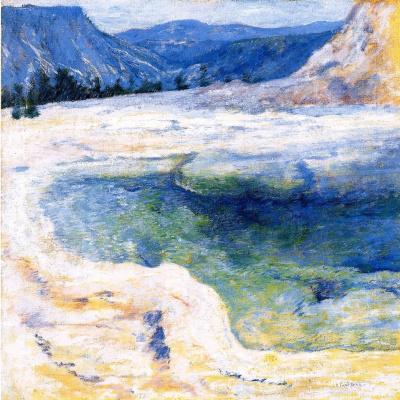 John Henry Twachtman. Emerald pool