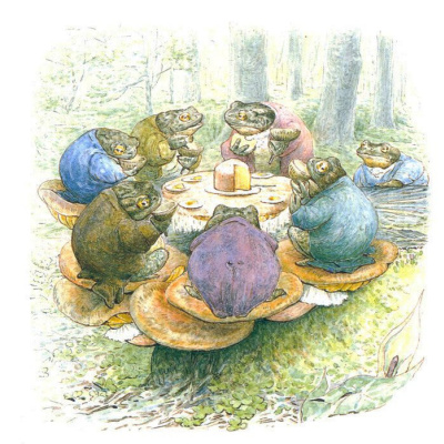 The tea party toads