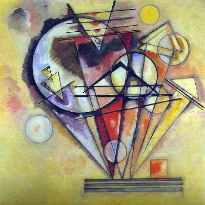 Wassily Kandinsky. On the points