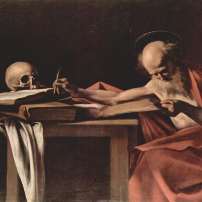 Пишущий Святой Иероним
