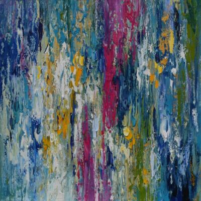 Tanya Vasilenko. Abstract 7. Oil. Canvas. Abstract 7. Oil on canvas.
