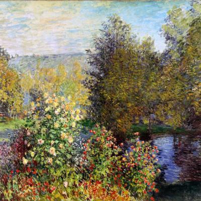 Corner of garden in Montgeron