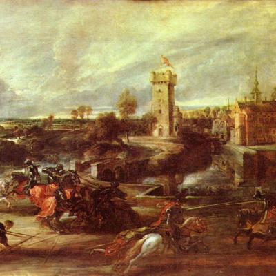 Tournament near the castle