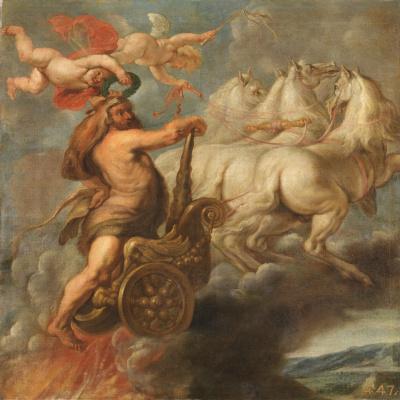 Juan Batista Martinez del Maso. Apotheosis of Hercules
