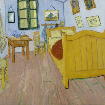 Bedroom in Arles (first version)