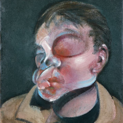 Self-portrait with injured eye