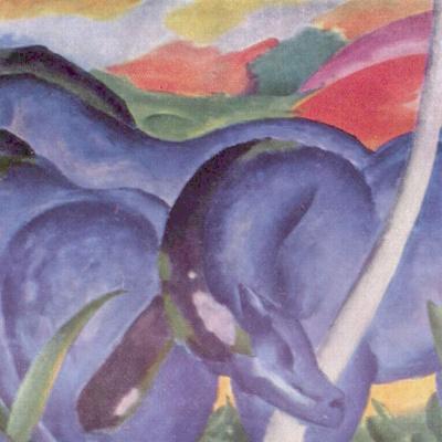Большие синие кони