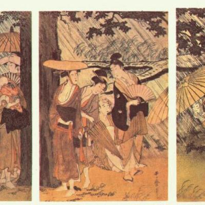 Shower 1-Triptych