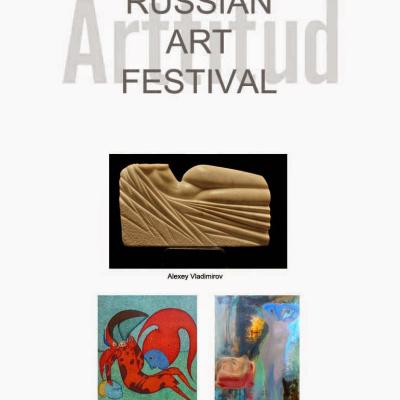 The Russian Art Festival at Arttitud San Francisco for San Francisco Art Market Week, May 16, 2014