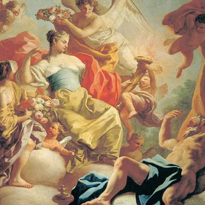 Богиня утра Аврора и троянский принц Титон
