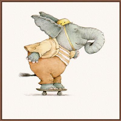 Линн Мунсингер. Слон на роликах