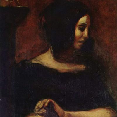 Portrait Of George Sand