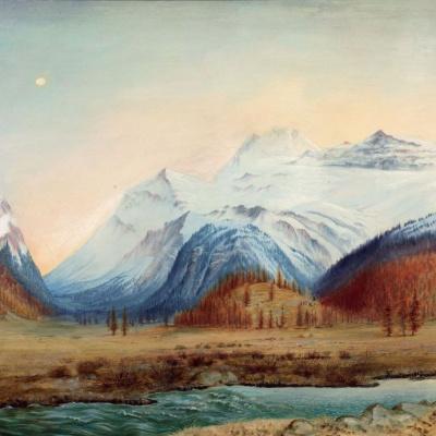 The landscape of the Bernina pass
