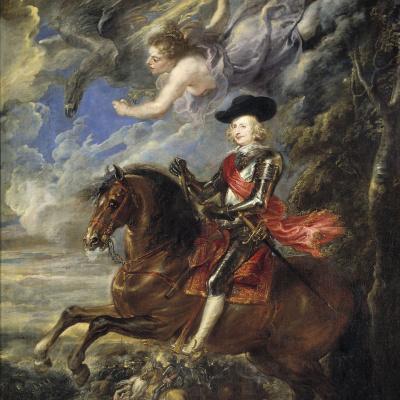 The cardinal-infant Ferdinand of the Austrian at the battle of Nördlingen