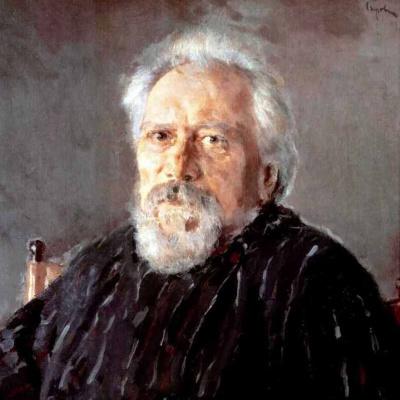 Портрет писателя Н. С. Лескова