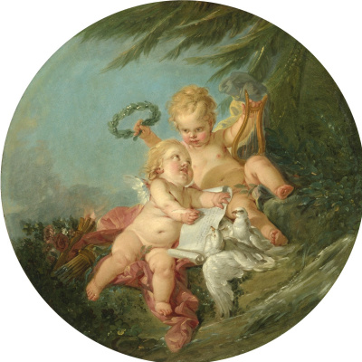 Francois Boucher. Allegory of Poetry