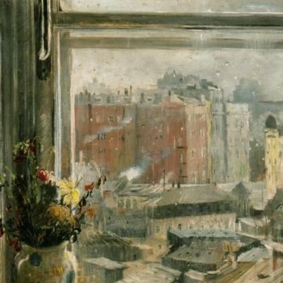 Вид из окна, Москва