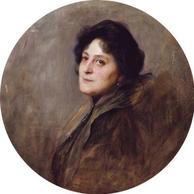 Филип Аликсис Де Ласло. Баронесса Вольф фон Стомерзее, урожд. Алиса Барби. 1901
