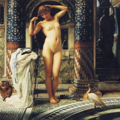 Edward John Poynter. Nude