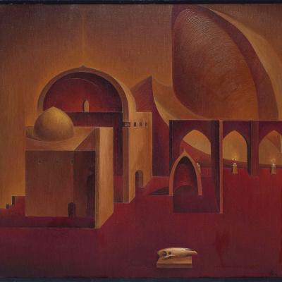Architectural mystical composition part 2