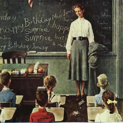 Birthday teacher
