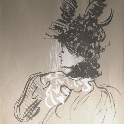 Новая шляпа (Сюзанна Валадон)