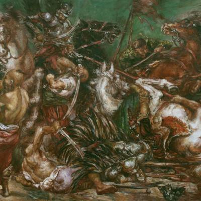 ВОССТАНИЕ ПАВЛА ПАВЛЮКА 1637 ГОД БИТВА ПОД СЕЛОМ КУМЕЕК С ГУСАРАМИ ПОТОЦКОГО