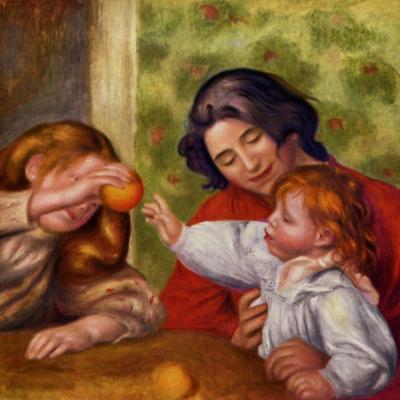 Габриэль, Жан и девочка