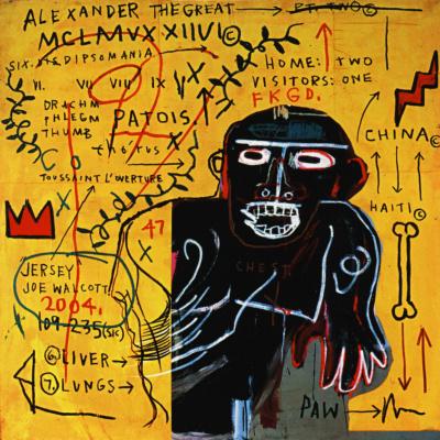 Жан-Мишель Баския. Все цветные касты III