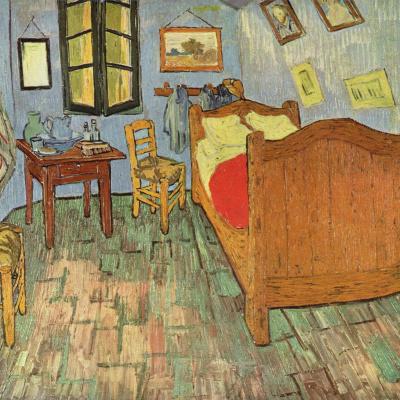 Спальня в Арле (второй вариант)