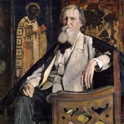 Портрет художника В.М. Васнецова
